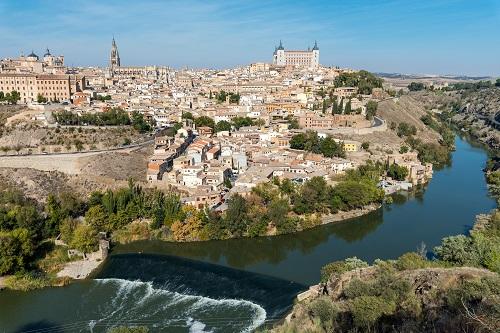 Madrid mit Kastilien La Mancha