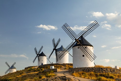 Kastilien León - Madrid - Extremadura - Kastilien La Mancha